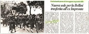 """Articolo pubblicato su """"Paese Sera"""" il 26/2/1985"""