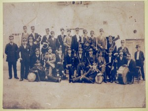 La banda nel 1930 ca.