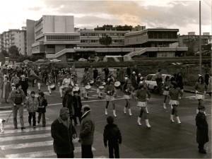 La banda negli anni '80