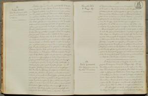 Copia del verbale del 31 maggio 1869